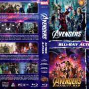 Avengers 4-Pack R1 Custom Blu-Ray Cover