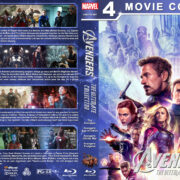 Avengers: The Ultimate Collection R1 Custom Blu-Ray Cover V4