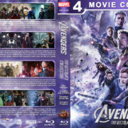 Avengers: The Ultimate Collection R1 Custom Blu-Ray Cover V3