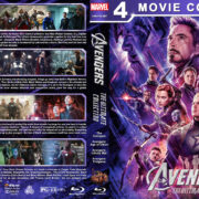Avengers: The Ultimate Collection R1 Custom Blu-Ray Cover V2