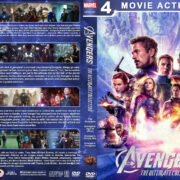 Avengers: The Ultimate Collection R1 Custom DVD Cover
