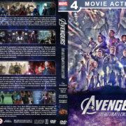 Avengers: The Ultimate Collection R1 Custom DVD Cover V4