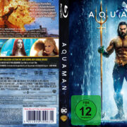 Aquaman (2018) R2 German Custom Blu-Ray Covers