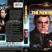THUNDERBALL (1965) R1 SE DVD COVER & LABEL