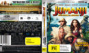 Jumanji: Welcome To The Jungle (2017) R4 4K UHD Cover & Labels