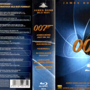 BOND 007 COLLECTION BOXSET GERMAN VOL 1 & 2 Blu-Ray Cover & labels