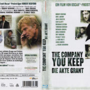 The Company You Keep - Die Akte Grant (2013) R2 german Blu-Ray Cover & Label