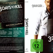 3 Days to Kill (2014) R2 German Blu-Ray Covers & Label