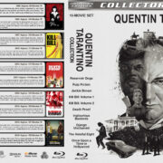 Quentin Tarantino Collection (10) R1 Custom Blu-Ray Cover