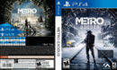 Metro Exodus PS4 Custom Cover