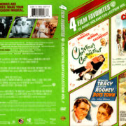 4 FILM CLASSIC HOLIDAY COLLECTION DVD's (2011) R1 CUSTOM DVD COVER & LABELS