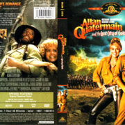 ALLAN QUARTERMAIN AND THE LOST CITY OF GOLD (1987) R1 DVD COVER & LABEL