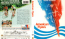 AMERICAN FLYERS (1985) R1 DVD COVER & LABEL