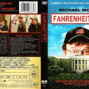 FAHRENHEIT 9/11 (2004) R1 DVD COVER & LABEL