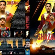 Shazam! (2019) R1 Custom DVD Cover