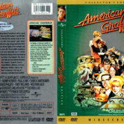 AMERICAN GRAFFITI COLLECTOR'S EDITION (1973) R1 DVD COVER & LABEL
