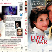 IN LOVE AND WAR (1999) R1 DVD COVER & LABEL