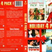 HOLIDAY 4 PACK VOL 1 (2011) R1 DVD COVER & LABEL