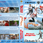 Pee-Wee Herman Triple Feature R1 Custom DVD Cover