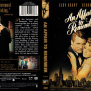 AN AFFAIR TO REMEMBER (1957) R1 DVD COVER & LABEL