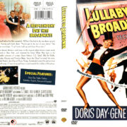 LULLABY OF BROADWAY (1950) R1 DVD COVER & LABEL