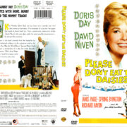 PLEASE DON'T EAT THE DAISIES (1959) R1 DVD COVER & LABEL