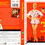 THE PAJAMA GAME (1957) R1 DVD COVER & LABEL