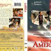 LOST IN AMERICA (1985) R1 DVD COVER & LABEL