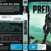 Predator (1987) R4 4K UHD Cover & Label