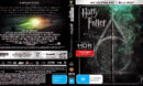 Harry Potter And The Deathly Hallows - Part 2 (2011) R4 4K UHD Cover & Labels