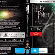 Harry Potter And The Deathly Hallows – Part 2 (2011) R4 4K UHD Cover & Labels