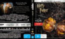 Harry Potter And The Deathly Hallows - Part 1 (2010) R4 4K UHD Cover & Labels