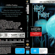 Harry Potter And The Order Of Phoenix (2007) R4 4K UHD Cover & Labels