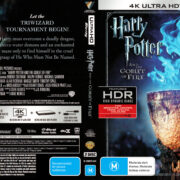 Harry Potter And The Goblet Of Fire (2005) R4 4K UHD Cover & Labels