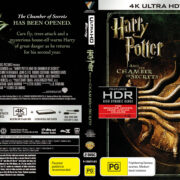 Harry Potter And The Chamber Of Secrets (2002) R4 4K UHD Cover & Labels