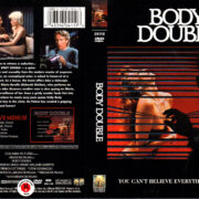 BODY DOUBLE (1984) R1 DVD COVER & LABEL