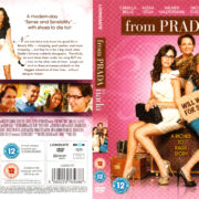 FROM PRADA TO NADA (2010) R1 DVD COVER & LABEL
