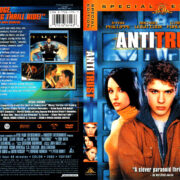 ANTITRUST (2000) R1 DVD COVER & LABEL