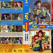 Toy Story 4-Pack R1 Custom Blu-Ray Cover