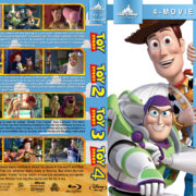 Toy Story Collection R1 Custom Blu-Ray Cover