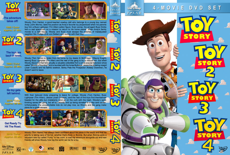 Toy Story Collection R1 Custom Dvd Cover Dvdcover Com