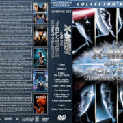 X-Men and the Wolverine Ultimate Collection R1 Custom DVD Cover
