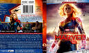 Captain Marvel (2019) R1 Blu-Ray Custom Cover