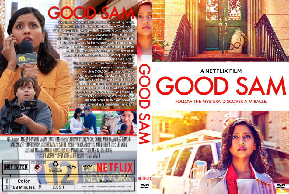 Good Sam (2019) R1 Custom DVD Cover - DVDcover.Com