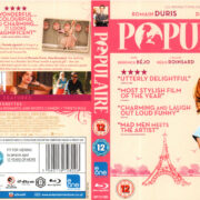 POPULAIRE (2012) R2 BLU-RAY COVER & LABELS