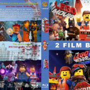 The Lego Movie Double Feature R1 Custom Blu-Ray Cover