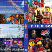 The Lego Movie Double Feature R1 Custom DVD Cover