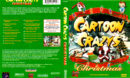 CARTOON CRAZYS CHRISTMAS (1998) R1 DVD COVER & LABEL