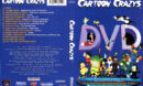 CARTOON CRAZYS DVD (1997) R1 DVD COVER & LABEL