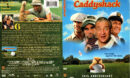 CADDYSHACK (1980) R1 DVD COVER & LABEL